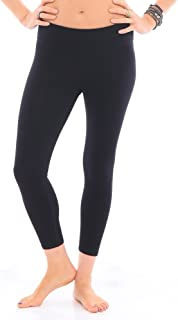 product image for Hyde Women's Organic Cotton Wren Yoga Legging - 3/4 Length, Flattering, Made in The USA
