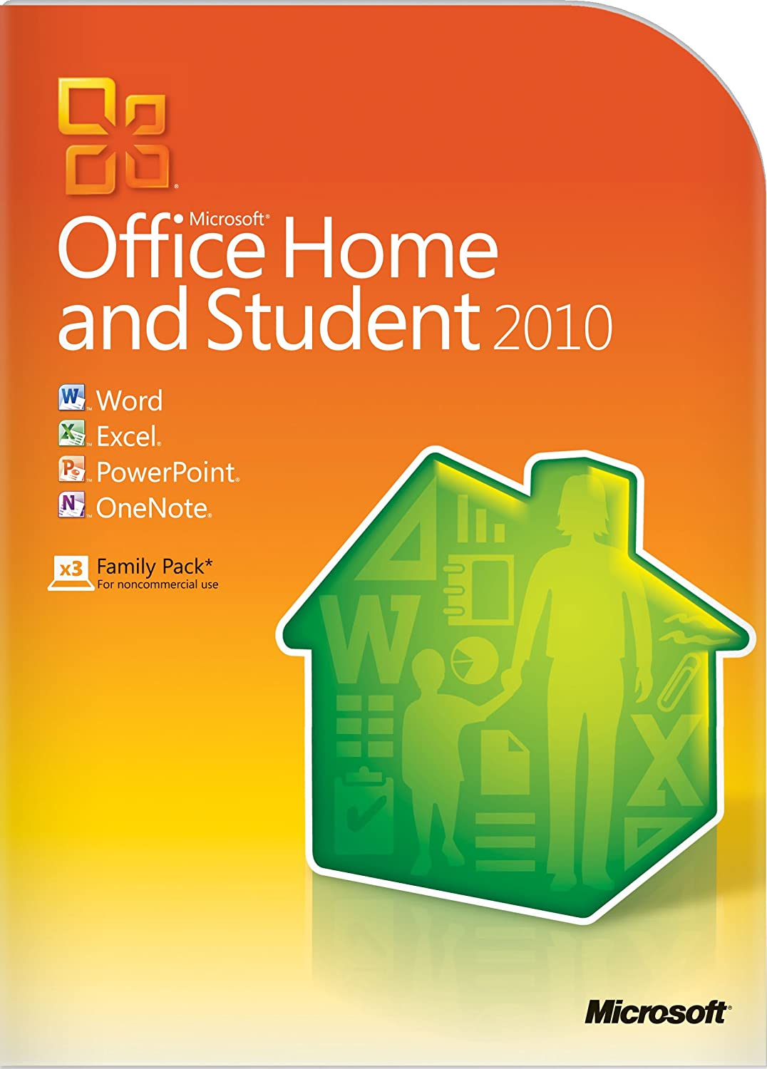 Microsoft Office Home & Student 2010 - 3PC/1User [Download]