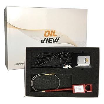 OIL VIEW CP-100 - Sistema de guía de cambio de aceite para vehículos con aplicación para medir el aceite del motor: Amazon.es: Coche y moto