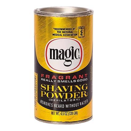 Polvos para afeitado fragancia