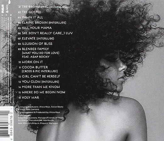 Alicia Keys The Element Of Freedom 320 KBPS.rar