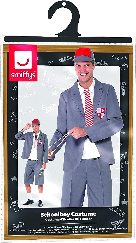 SmiffyS 31082L Disfraz De Colegial, Blazer, Pechera De Camisa Y ...