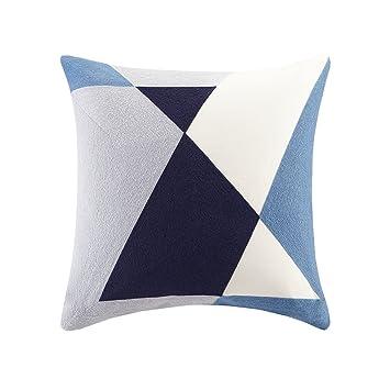 Amazon.com: Aero bordado abstracto almohada rectangular ...