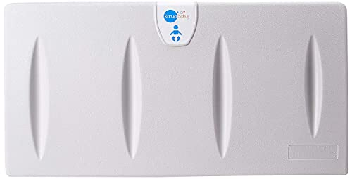 Karma Baby Wall Mounted Baby Changing Table Commercial Horizontal Fold-Down Diaper Changing Station