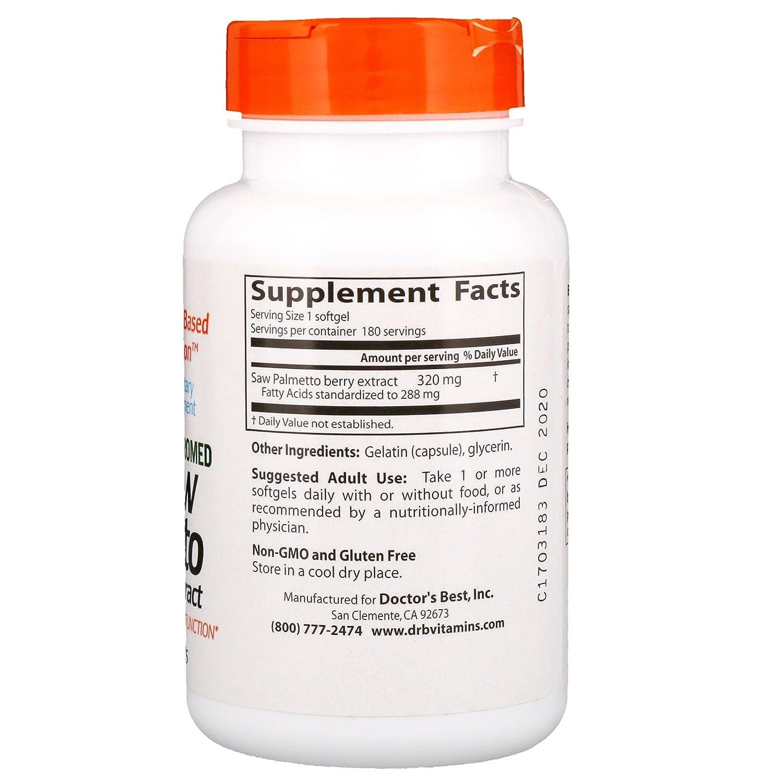 Euromed, Mejor Saw Palmetto, Extracto estandarizado, 320 mg - de mejor doctor: Amazon.es: Salud y cuidado personal