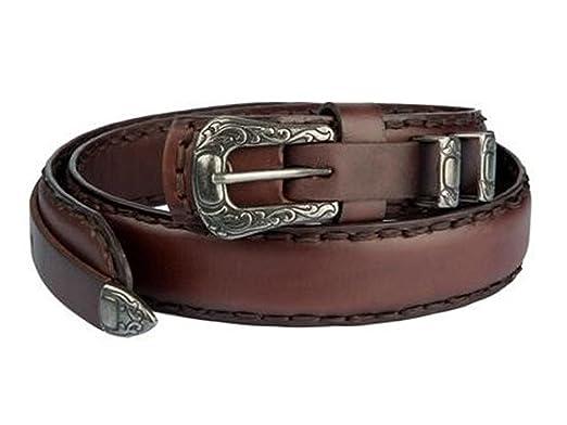 originale più votato nuovi oggetti estremamente unico CHARRO cintura in doppio cuoio vintage EL E308 SPECIAL colore testa moro,  passanti e puntale in metallo