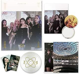 EVERGLOW 2nd Single Album - [ HUSH ] CD + Photobook + Postcards + Photocards + Folded Poster(On pack) + FREE GIFT / K-POP Sealed