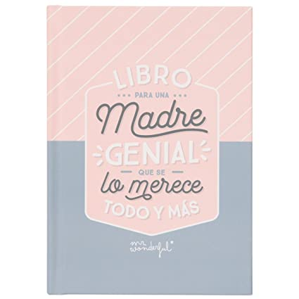 Mr. Wonderful WOA08456ES - Libro con mensaje