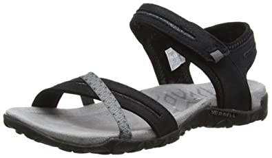 e472f994acde Merrell Women s Terran Cross II Sandals (6 B(M)) Black