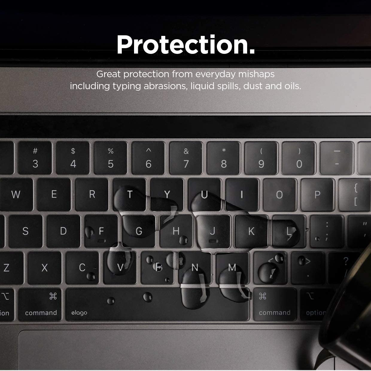 elago Ultra Thin Keyboard Skin for MacBook Pro 13 /& 15 with Touch Bar and Touch ID Transparent A1706//A1707//A1989//A1990//A2159 Version 2016//2017//2018//2019