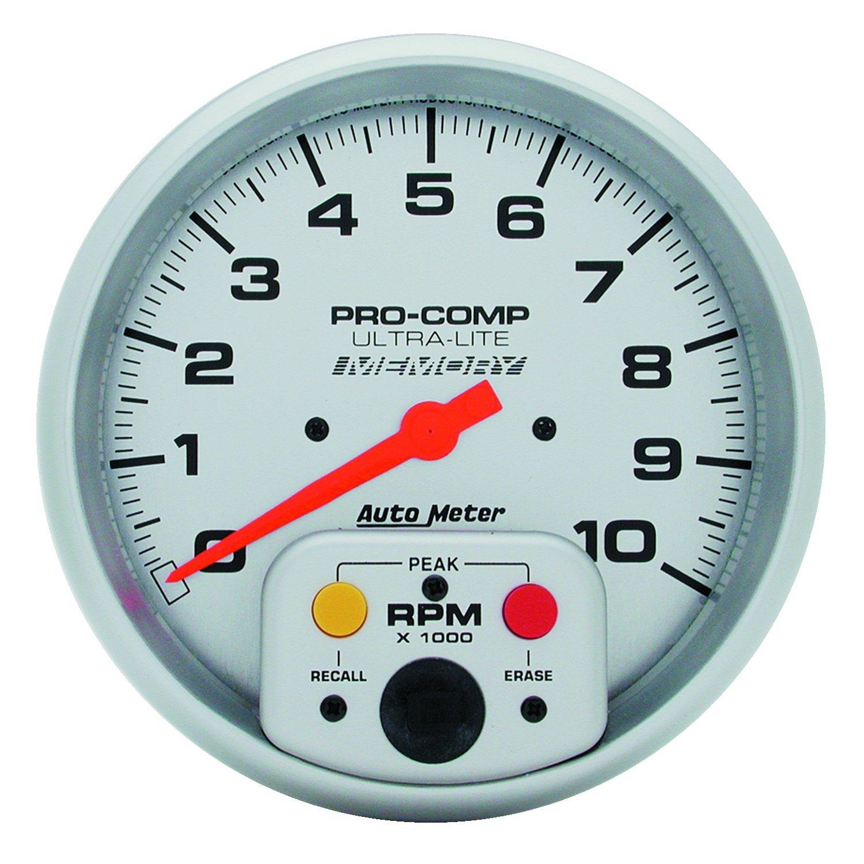 Auto Meter 4494 Ultra-Lite In-Dash Single Range Tachometer