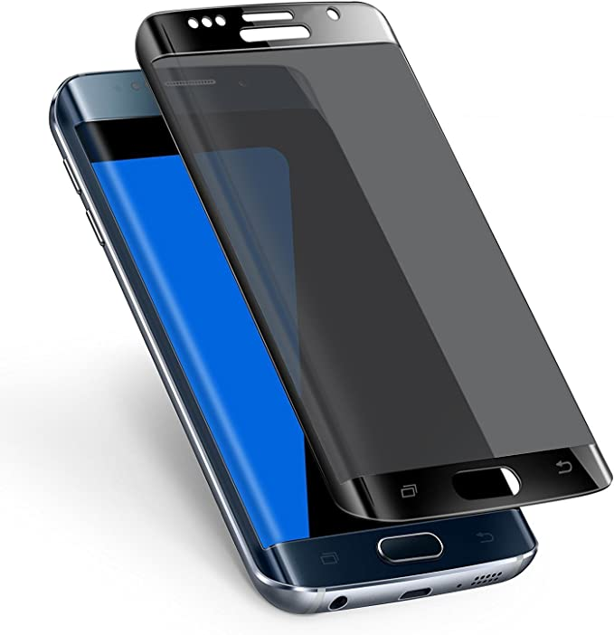 Samsung Galaxy S7 Edge teléfono pantalla completa cobertura negro privacidad templado vidrio Protector de pantalla para Samsung Galaxy S7 Edge: Amazon.es: Electrónica