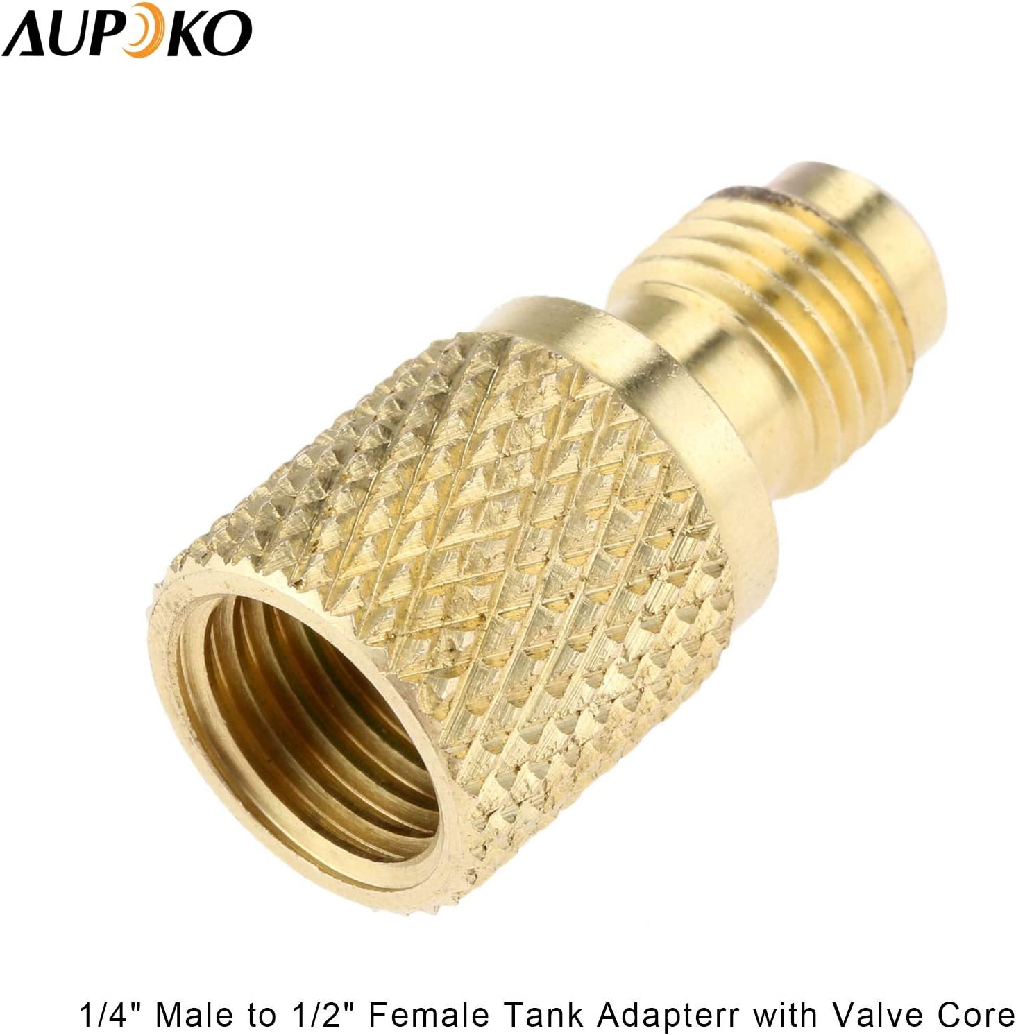 SAE 1//4 BV1414FM Fine Workmanship Brass for 1//4 Male 1//4 Female Adapter Refrigerant Valve Switch Valve
