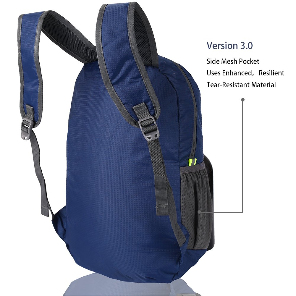 The Most Durable Lightweight Packable Backpack Water Resistant Travel Hiking Daypack for Men /& Women HIKPRO 20L
