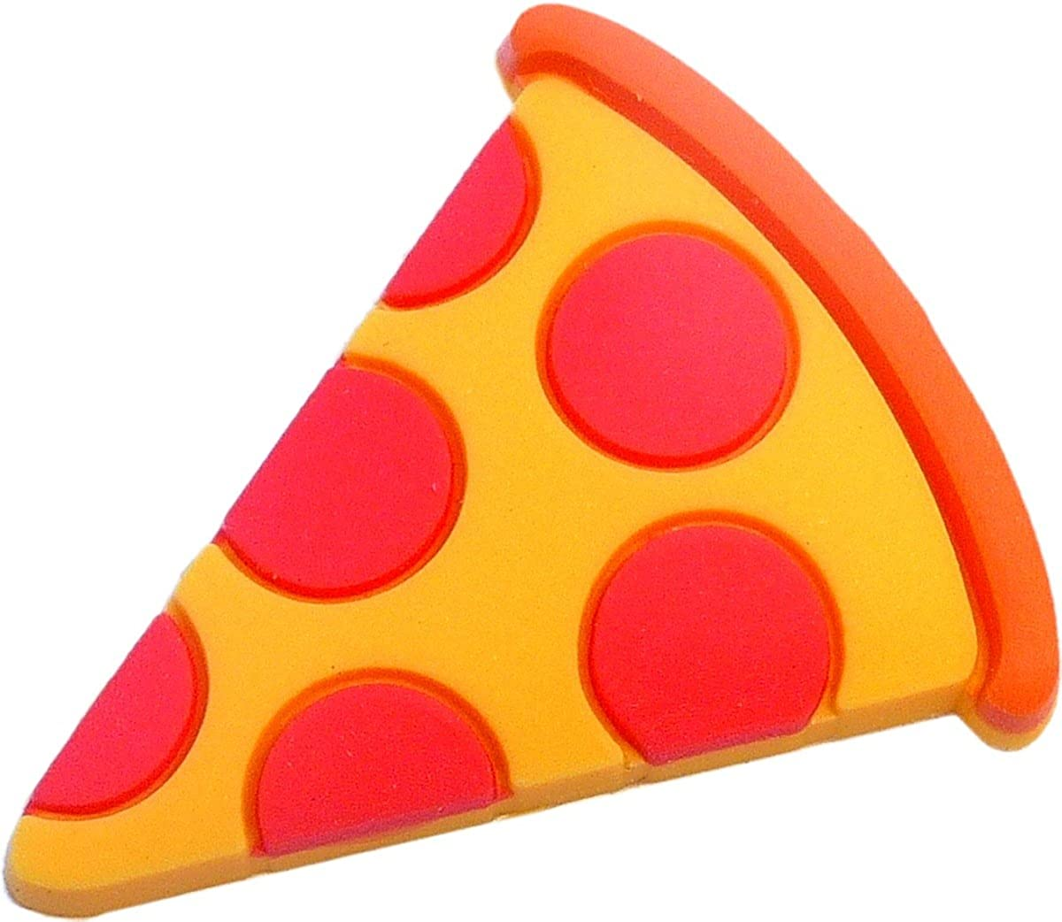 Pizza Rubber Charm for Wristbands