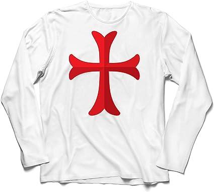 lepni.me Sweatshirt /à Capuche Manches Longues Le Chevalier templier Croix-Rouge Ordre du Temple de Salomon