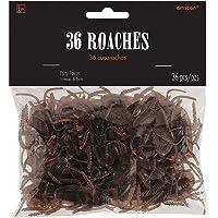 Amscan Plastic Favours Cockroaches, 24 Pieces