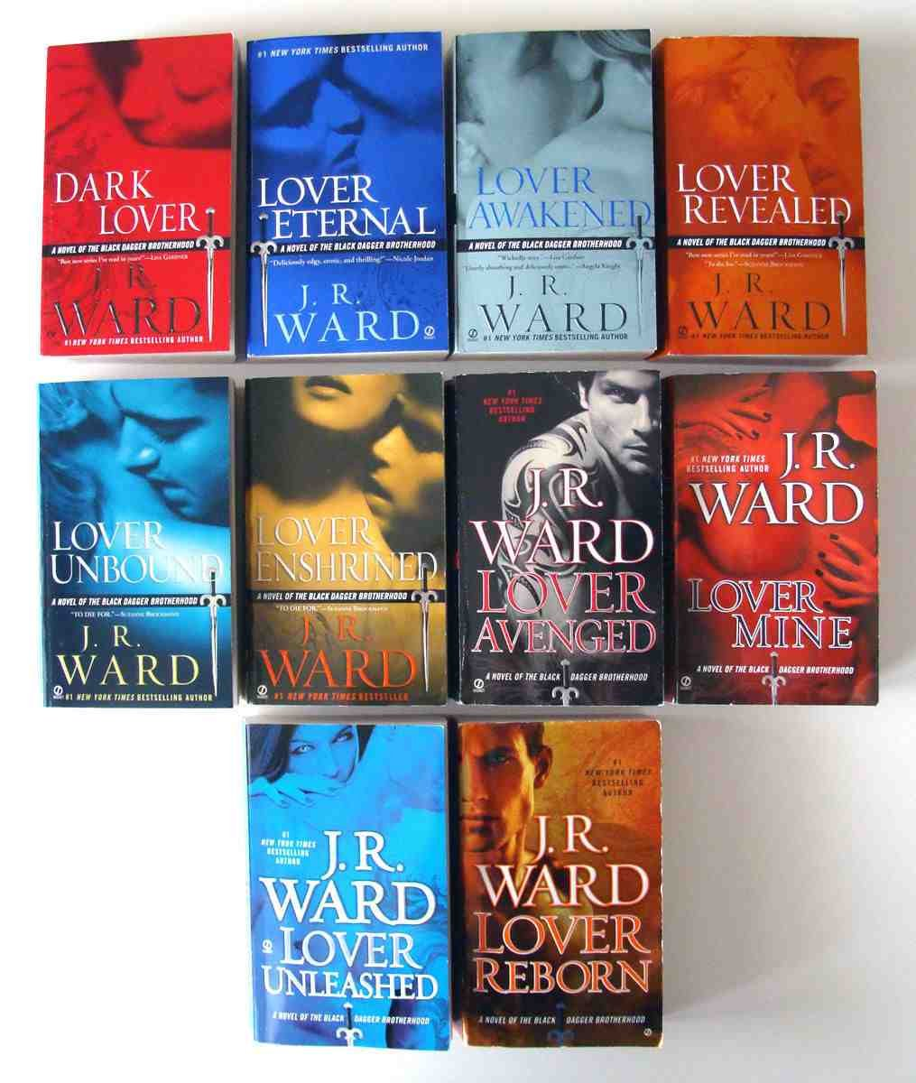 Complete Black Dagger Series Set (books 110): Dark Lover, Lover Eternal,  Lover Awakened, Lover Revealed, Lover Unbound, Lover Enshrined, Lover  Avenged,