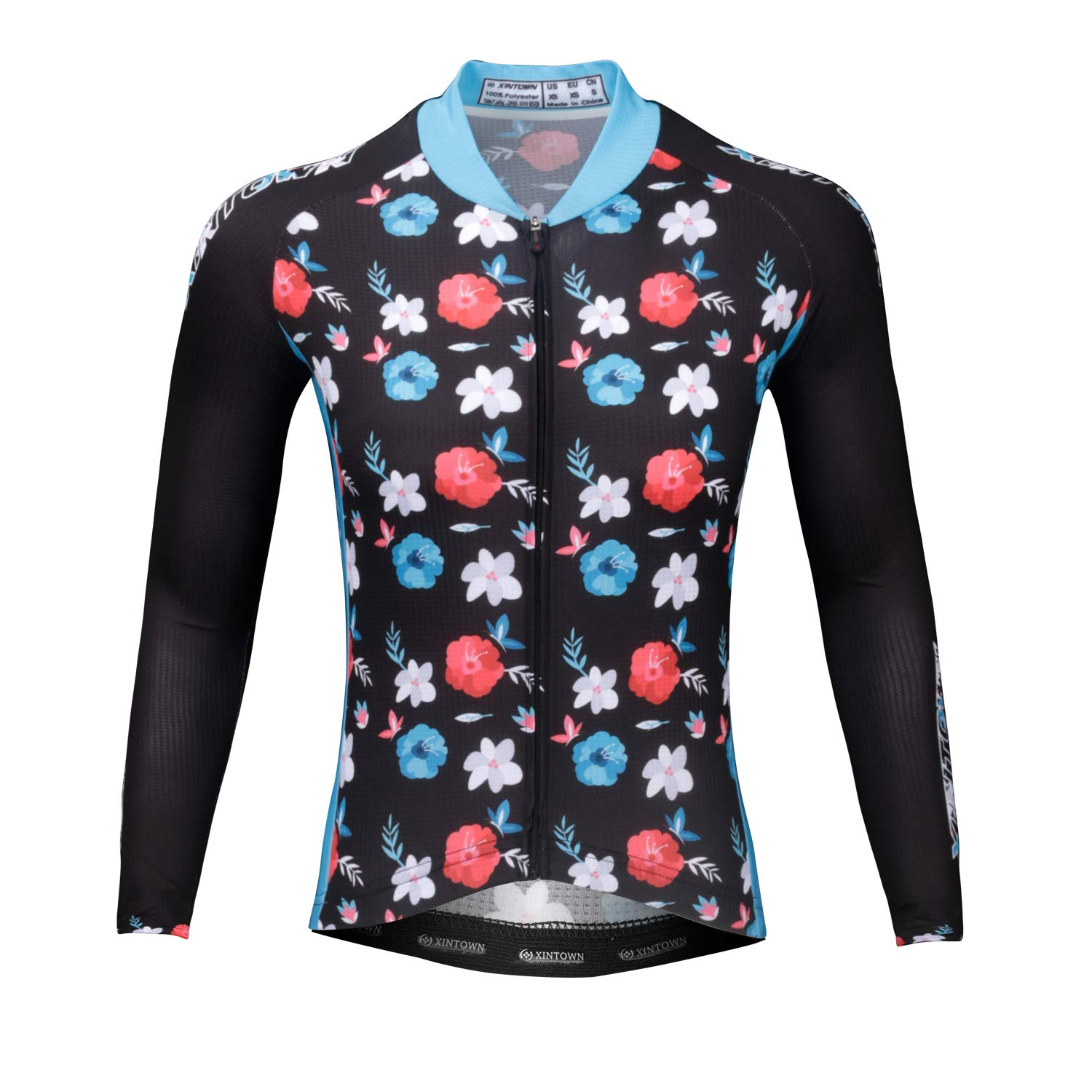 Patterns Stylish Breathable Long Sleeve Bicycle Shirt Top DuShow ...