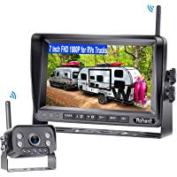 Rohent R9 HD 1080P RV Wireless Backup Camera with 7 Inch DVR Monitor High-Speed Rear View Observation System for Trucks…