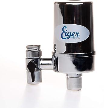 Eiger - Filtro para grifo de agua con sistema de filtración de ...