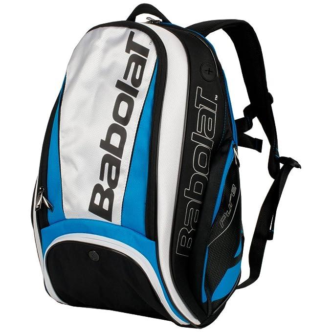 Babolat Pure Drive 107 azul/negro grande con una línea de Pure tenis raqueta de tenis bolsa o mochila, Tennis Backpack, Blue/White: Amazon.es: Deportes y ...