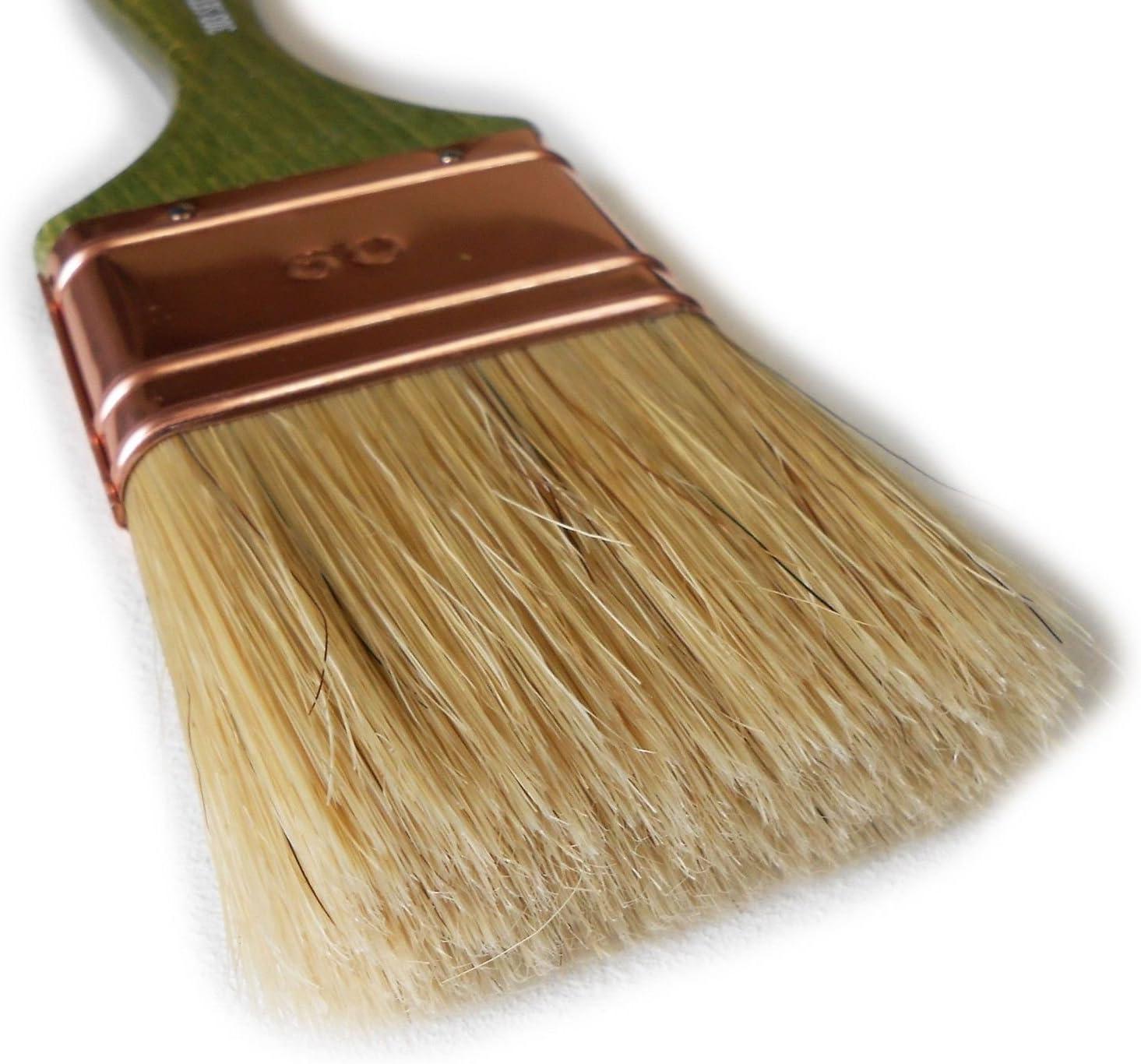 Saratoga Galopant s/érie 303/20/mm Pinceau qualit/é professionnelle Manche bois pour vernis lasure peinture eau solvant