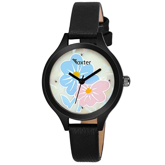 d94ad53d6 Buy Foxter Analogue Multicolor Dial Womens Watches (Ss-703W-703B)(Set of 1)  Online at Low Prices in India - Amazon.in