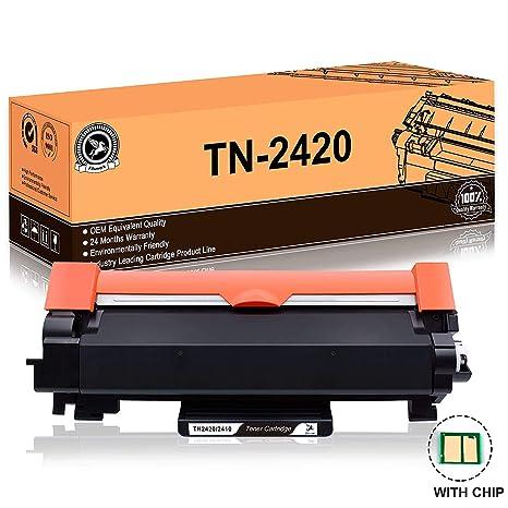 MIT CHIP Kompatibel f/ür Brother TN-2420 TN2420 TN-2410 TN2410 f/ür HL-L2310D HL-L2350DN HL-L2370DN HL-L2375DW MFC-L2710DN MFC-L2710DW MFC-L2730DW MFC-L2750DW DCP-L2510D DCP-L2530DW LEMERO Toner