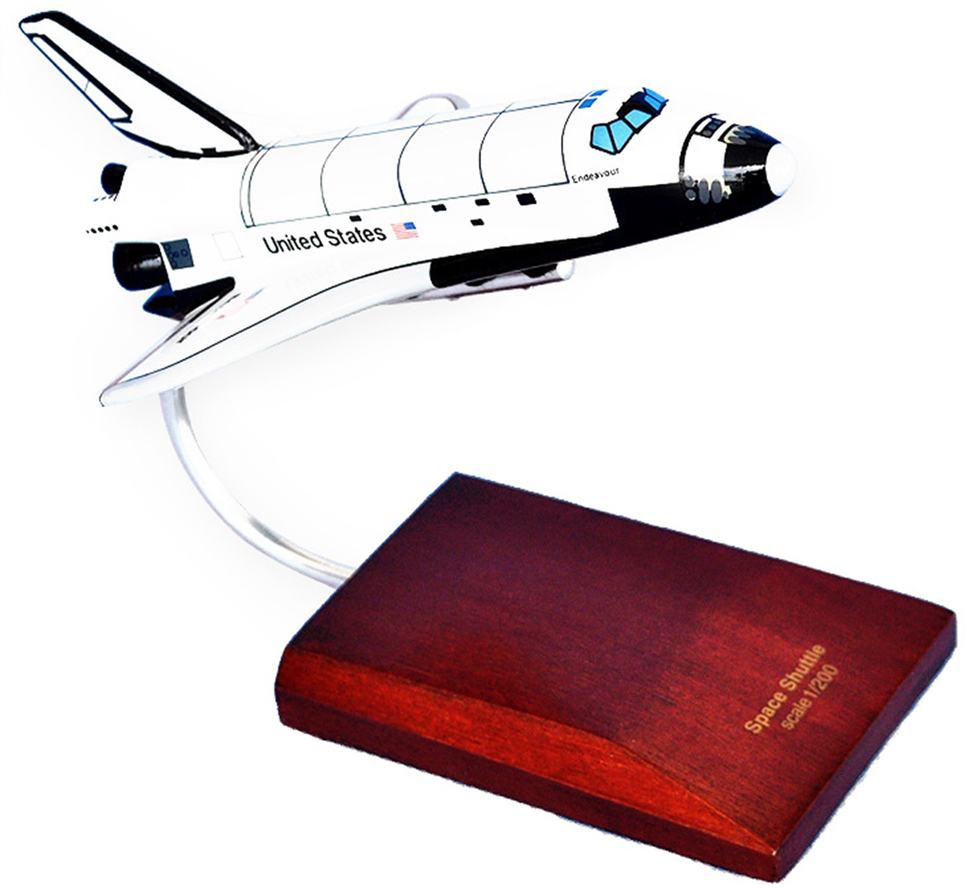 Mastercraft Collection Orbiter Endeavour Space Shuttle Model Scale:1/200