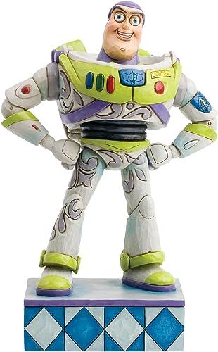 Disney Jim Shore Traditions Buzz Lightyear Figurine, 7-Inch