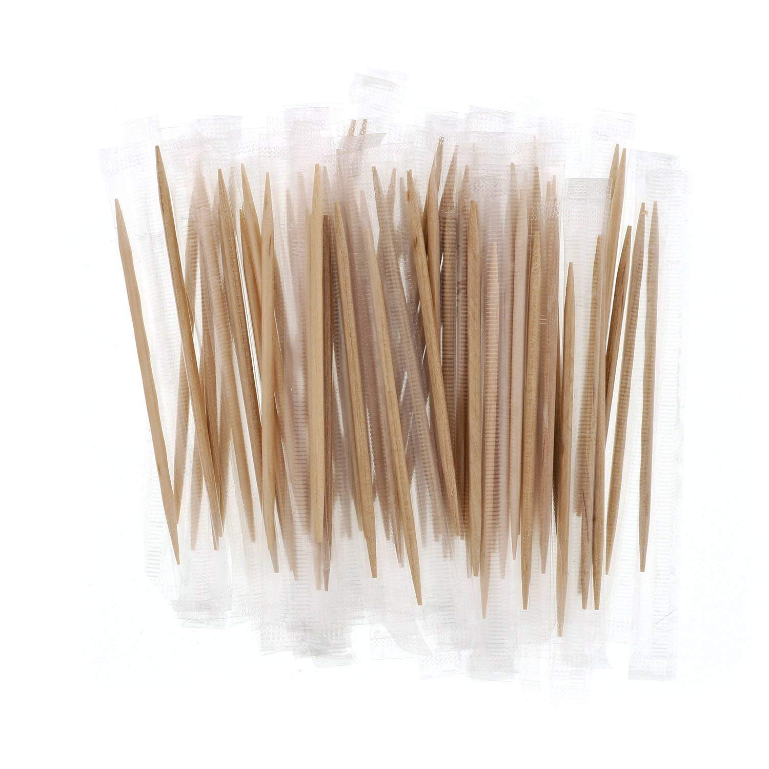 Mint Cello-Wrapped Wood Toothpicks RPPRM115