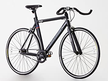 Aluminio Sola Velocidad Fixie Fixed Gear Bike- Bike- rueda Flip Flop