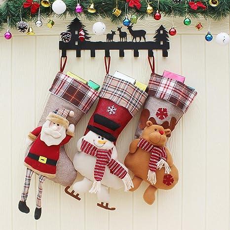 PLYY Artículos de Navidad Bolsas de Regalo Adornos de Navidad Bolso de Regalo Colgante Calcetines Grandes