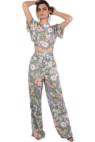 Pilot pantalones palazzo florales