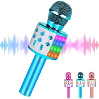 Wireless Kids Karaoke Microphone,Best Gifts for 7 8 9 Year Old Young Girls,Hot Girl Toys Age 4-16,Top Birthday Presents…