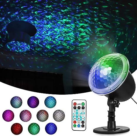 Amazon.com: Greatlizard - Proyector de luz LED con forma de ...