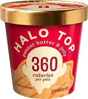 product image for Halo Top, Peanut Butter & Jelly Ice Cream, Pint (8 Count)