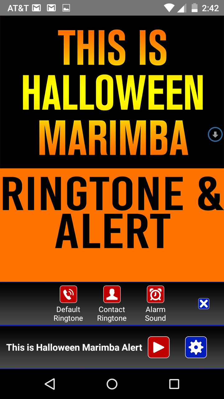 Amazon.com: This is Halloween Marimba Ringtone and Alert: Appstore ...