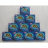HEM Incense Cones: Frankincense and Myrrh - 10 Packs of 10 = 100 Cones