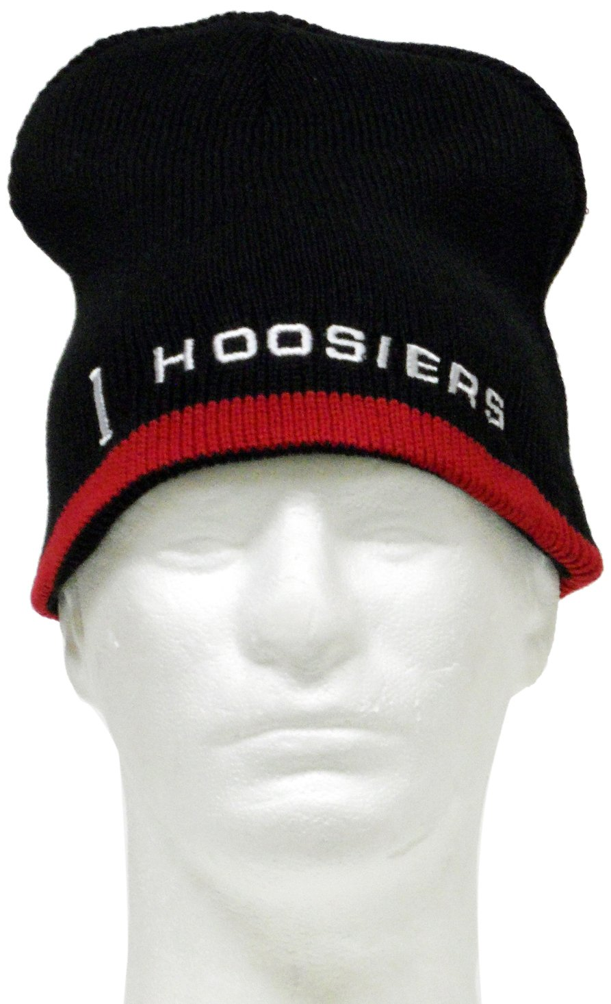 Donegal Bay NCAA Indiana Hoosiers Reversible Knit Hat, One Size, Red