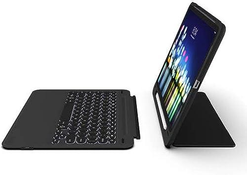 ZAGG Slim Book Go Teclado ultrafino y funda desmontable para iPad de 9,7 pulgadas (QWERTY)