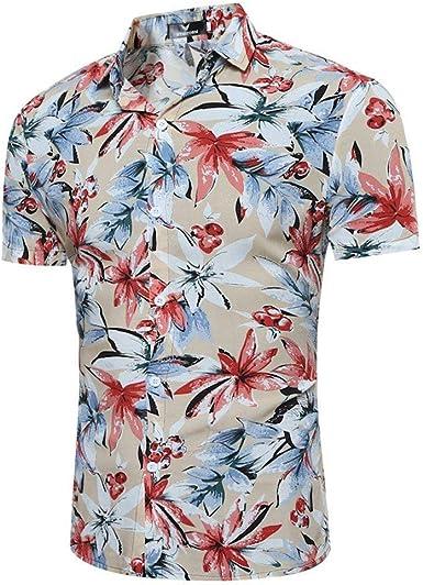 Hombre Camisa De Manga Corta para, Camisas De Ocio para ...