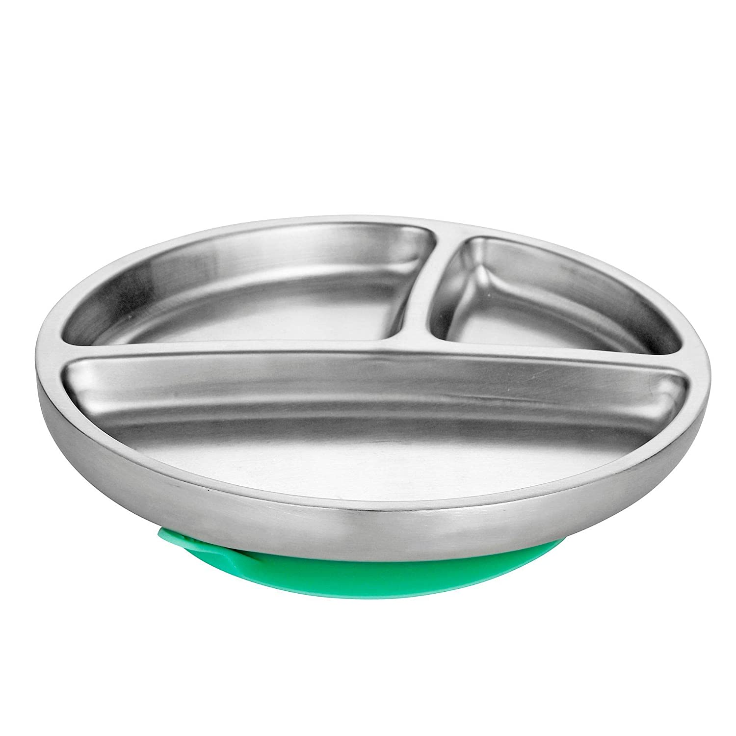 """Avanchy Baby Toddler Feeding Divided Suction Plate 