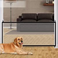 """70.9""""x28.3"""" Pet Gate,Baby Gate,Magic Gate Portable Folding mesh gate Safe Guard Isolated ,Indoor and Outdoor Safety Gate…"""