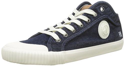 Pepe Jeans Industry Blue Denim, Zapatillas Hombre: Amazon.es: Zapatos y complementos
