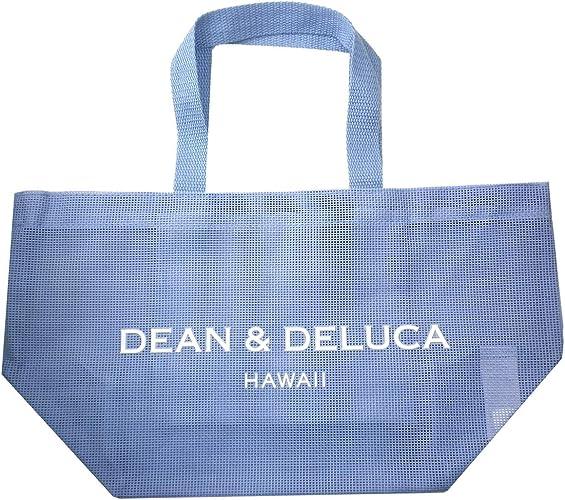 Amazon ディーン デルーカ Dean Deluca メッシュトートバッグ S トートバッグ ビーチバッグ サブバック ディーンアンドデルーカ ブルー 海 プール アウトドア Hawaii ハワイ アロハ Aloha 限定 バッグ 鞄 正規品 海外限定 トートバッグ