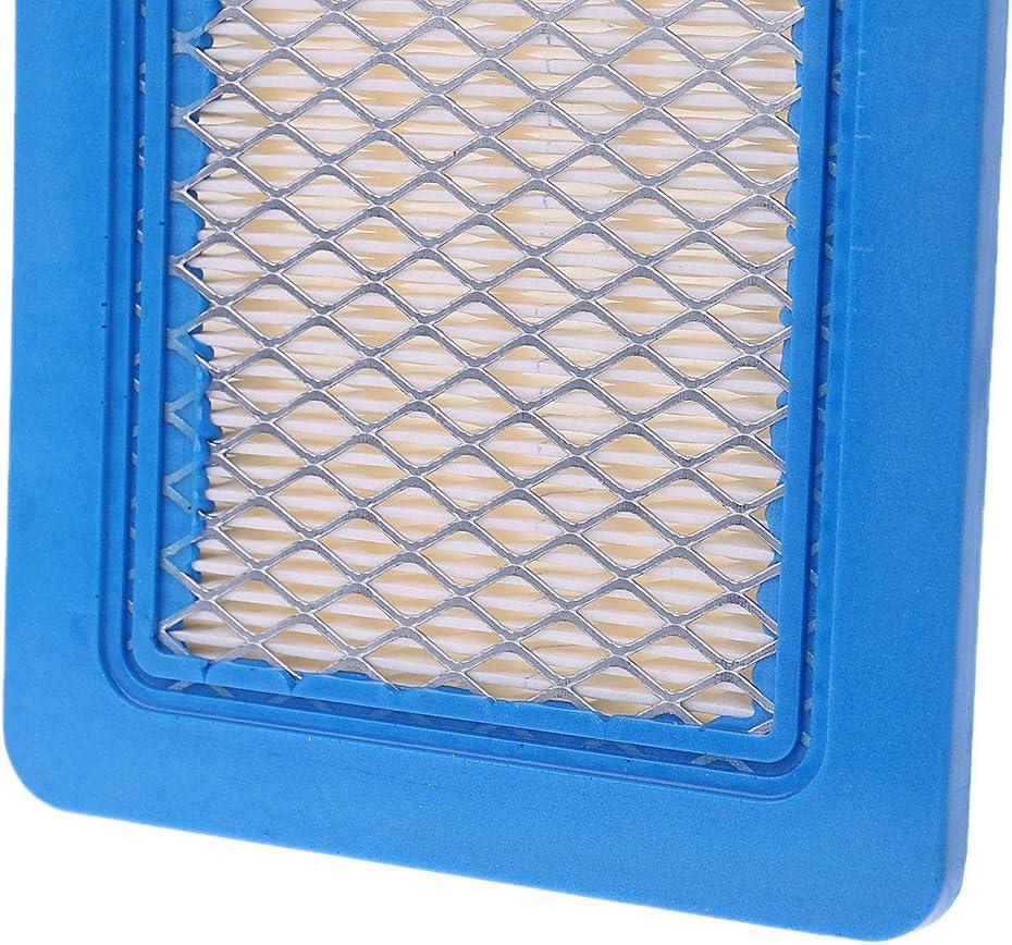 HavanaYZ Nettoyeur de filtre /à air carr/é pour tondeuse /à gazon Briggs /& ‿Stratton 491588 491588S 399959