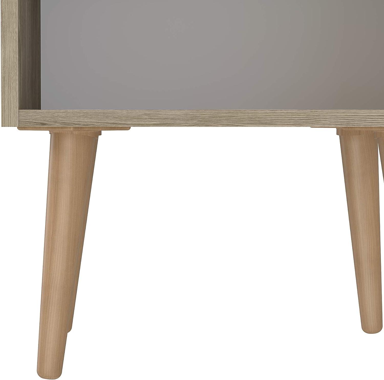 Table de chevet Movian Golo 45/x/37/x/47/cm Marron