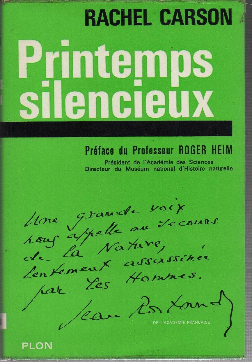 Amazon.it: Printemps silencieux - Carson Rachel - Libri